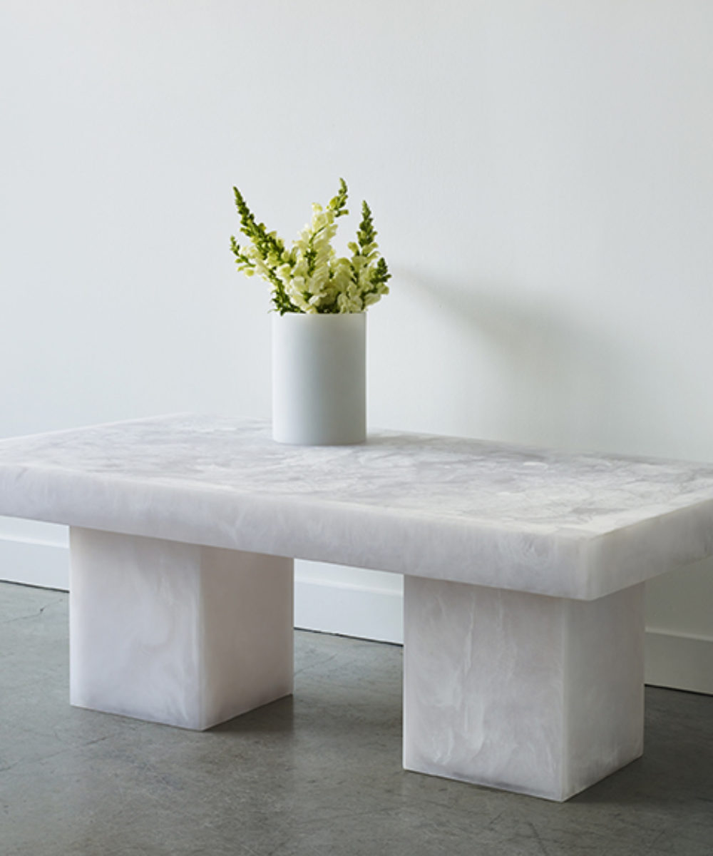 Studio Sturdy Furniture Lions Coffee table white marble