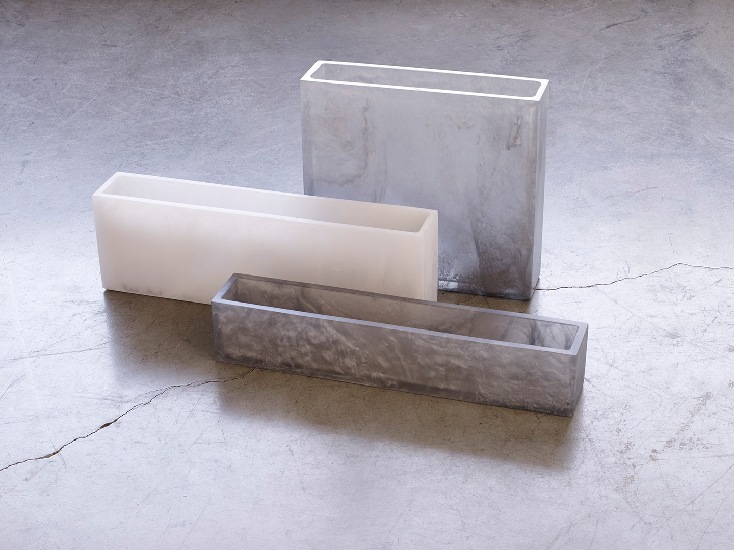 rectangle flower vases