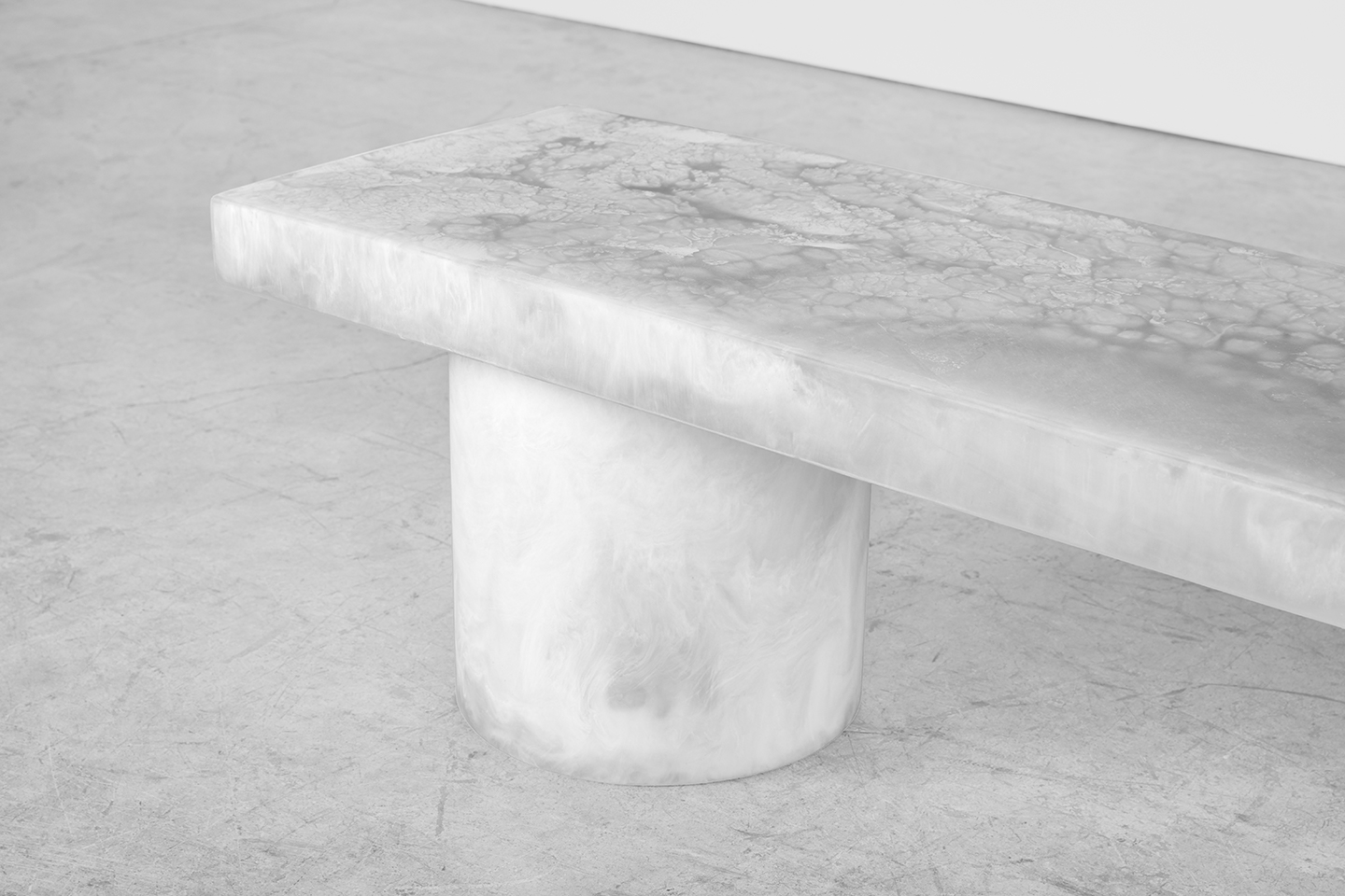 resin marble unique coffee table