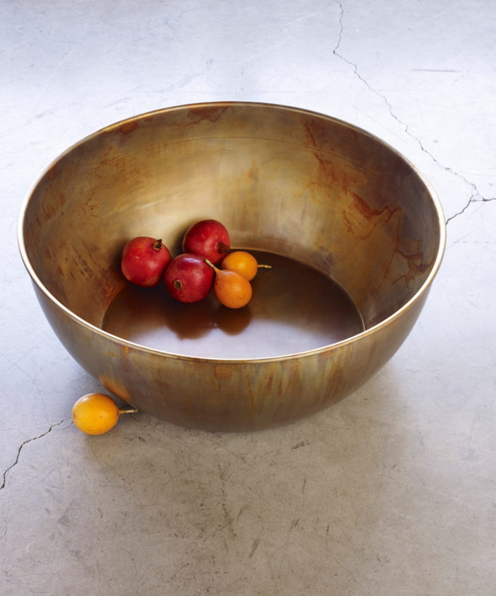 decorative brass bowl